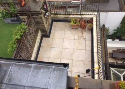 FLAT ROOF TERRACE GWS ROOFING SPECIALISTS
