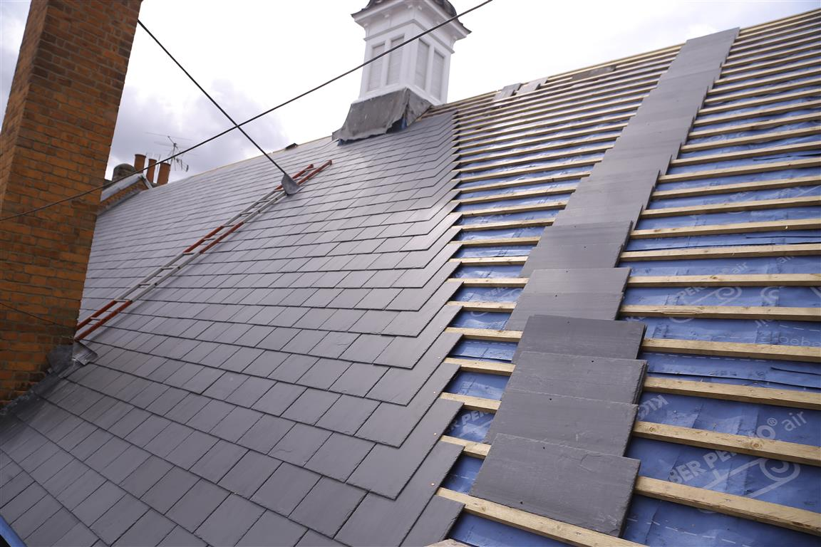 Slate Roof Gws Roofing Specialists Ltd